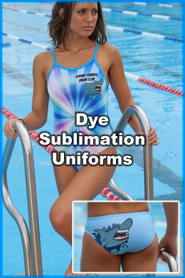 Nova Dye Sublimation Matching Team Swimming Uniforms